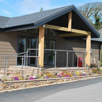Moss Wood Caravan Park Shop & Reception