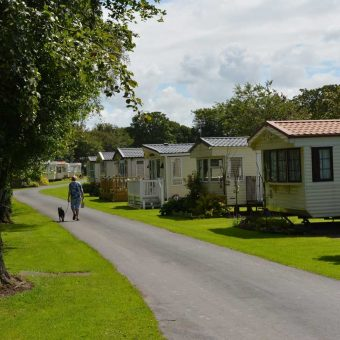 Static caravans for sale at Moss Wood Caravan Park