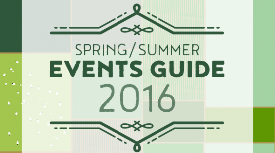 Sping/Summer Events Guide 2016 at Moss Wood Caravan Park