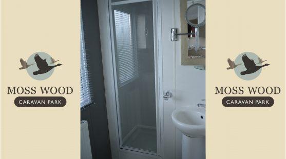 Bathroom of Delta Glade 2013 Caravan at Moss Wood Caravan Park