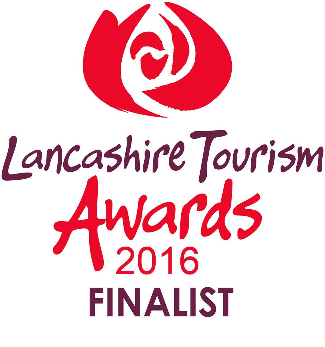 Lancashire Tourism Awards FINALIST logo 2016