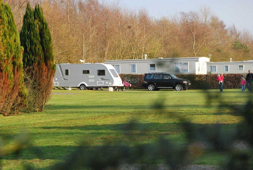 Touring at Moss Wood Caravan Park in Cockerham