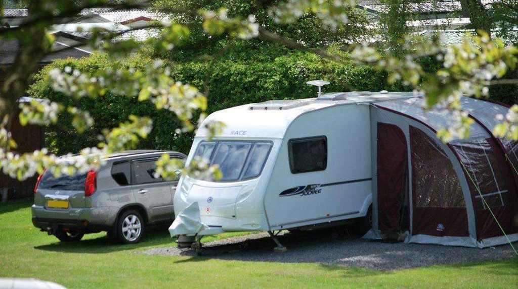 Touring Caravan pitch Lancaster