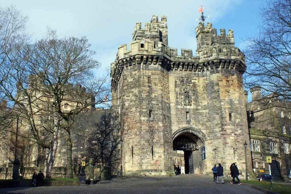 Lancaster Castle near Moss Wood Caravan Park
