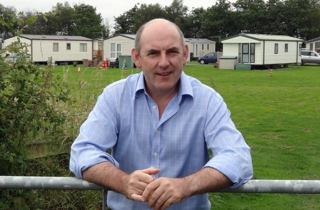 Henry Wild of Moss Wood Caravan Park