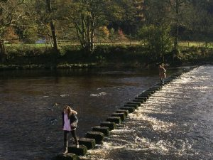 Stepping Stones at Inn at Whitewell