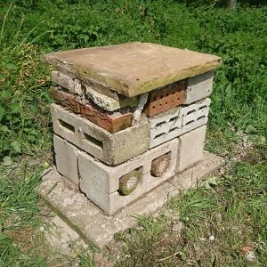 Bug hotel - artificial insect habitat