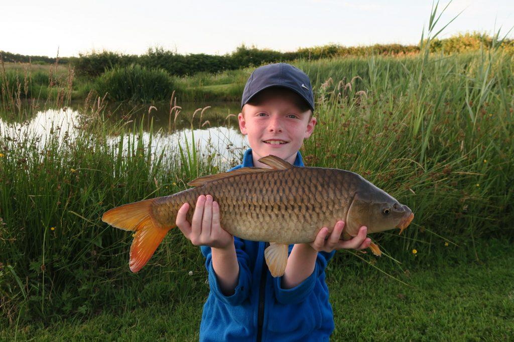 Child friendly fishing lake