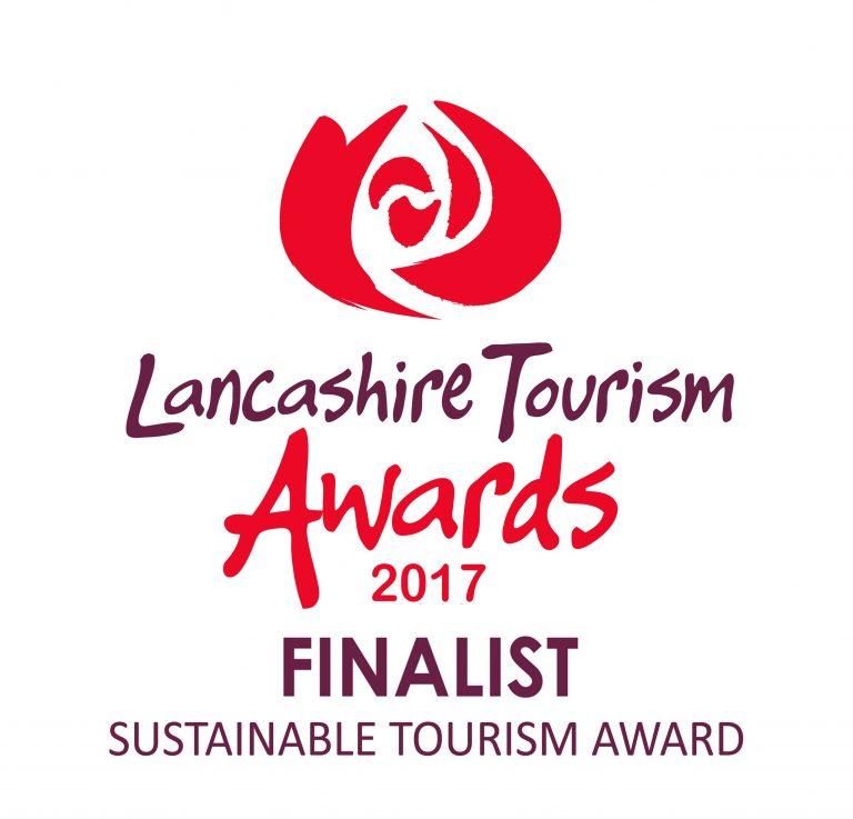 Lancashire Tourism Awards 2017 finalist logo SUSTAINABLE TOURISM AWARD