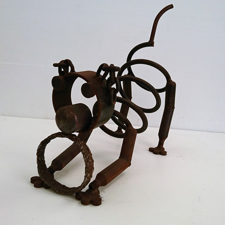 Frailloop - Recycled Metal Artwork - Dog