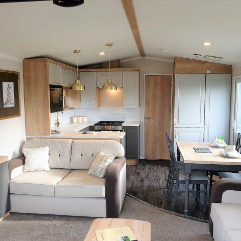Swift Bordeaux Escape 2019 Living Space