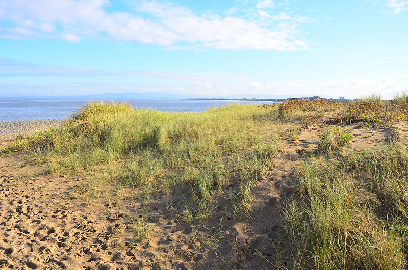 dand dunes in fleetwood lancashashire
