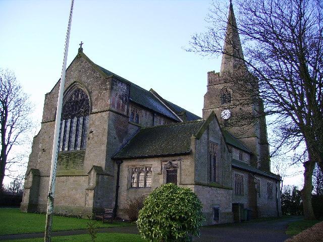 St John the Baptist Church in pilling