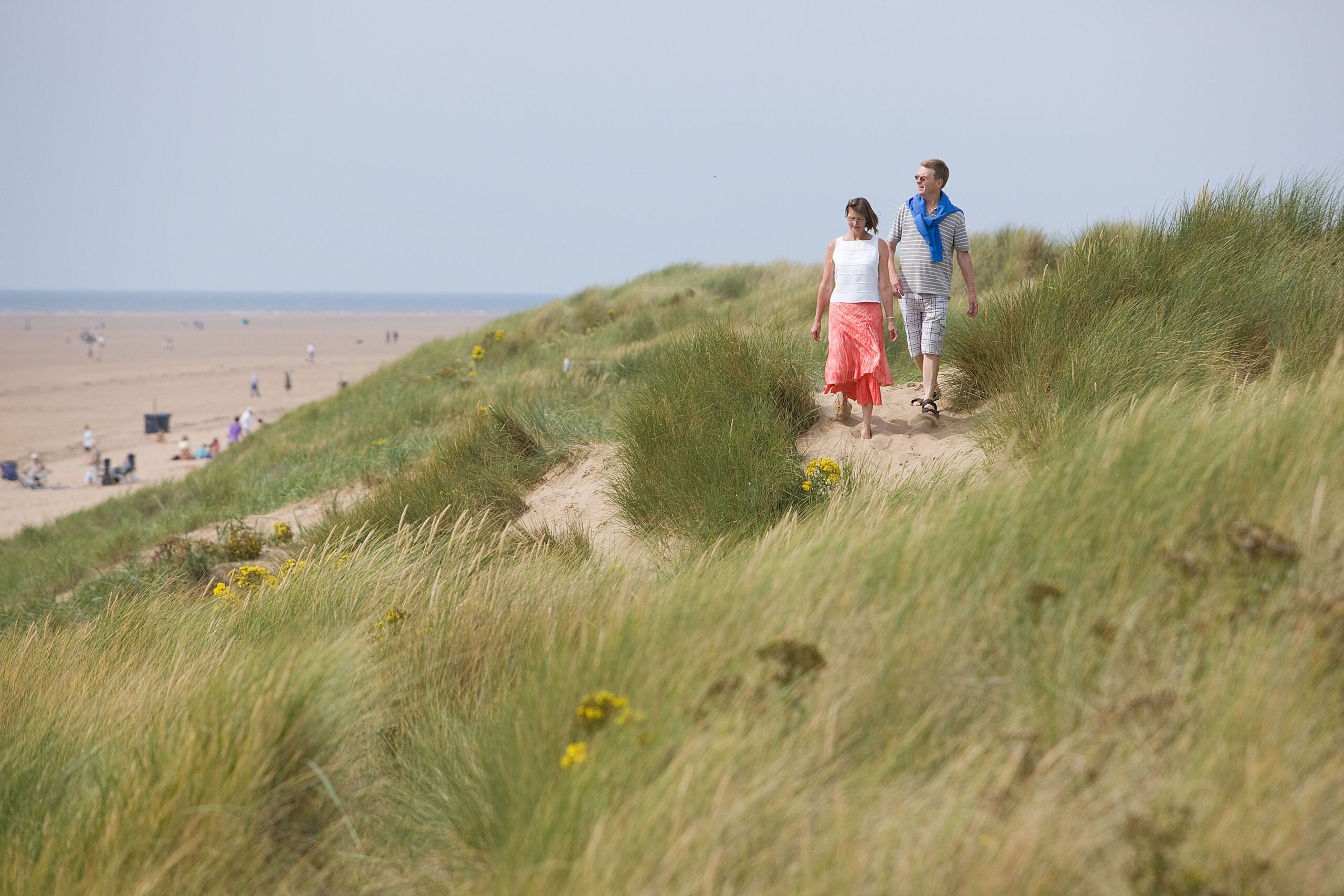 St Annes Beach - prom and sand dunes (55)