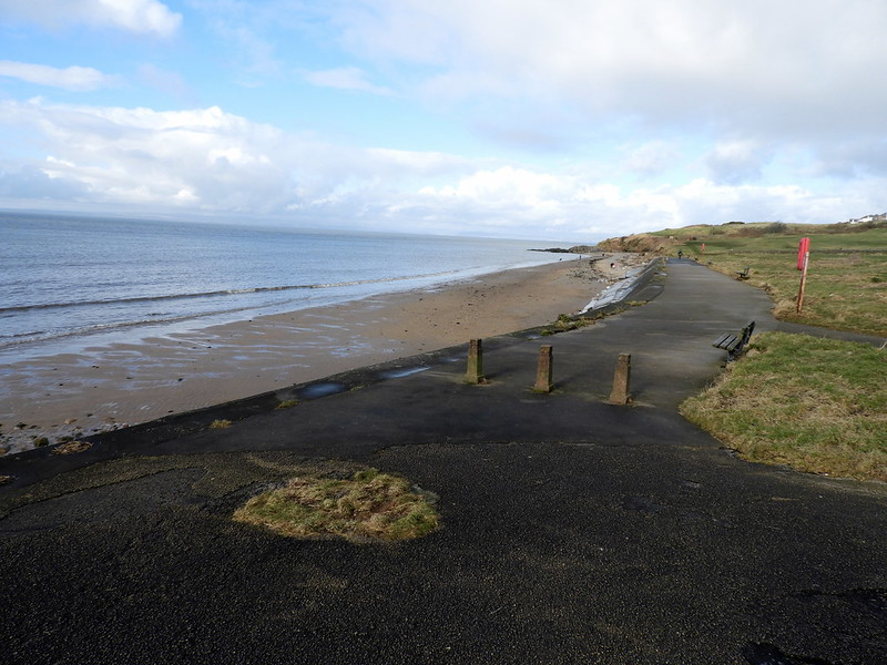 half moon bay heysham lancashire dog friendly beach