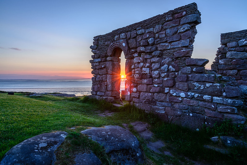 st patricks chapel heysham coast